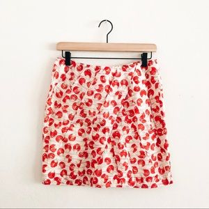 ANTHRO • leifsdottir organza petal skirt